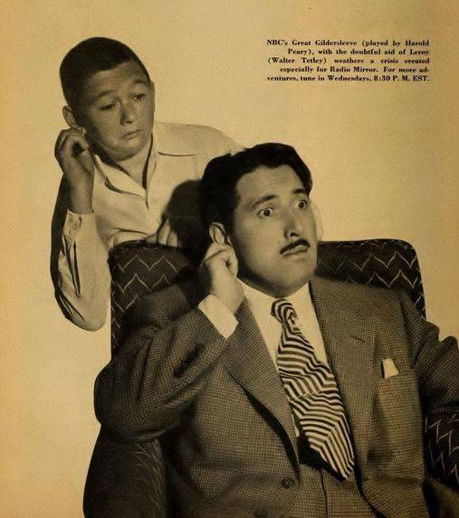 Great Gildersleeve (played by Harold Peary),