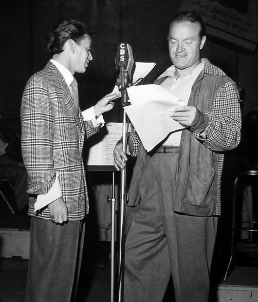 Frank Sinatra and Bob Hope