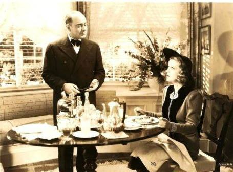 Eric Blore and Glenda Farrell