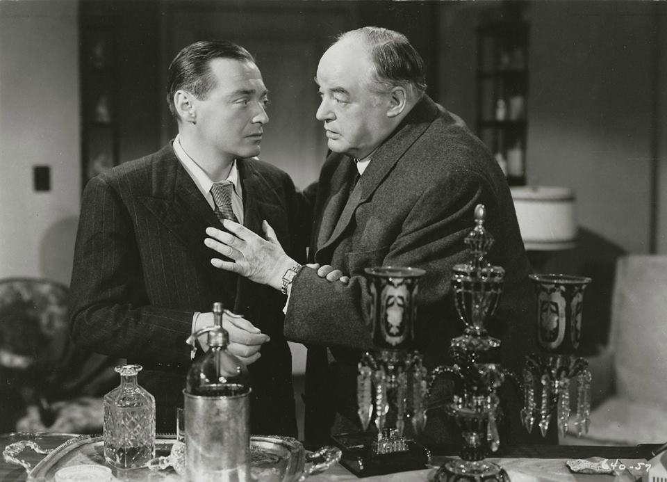 Peter Lorre and Sydney Greenstreet