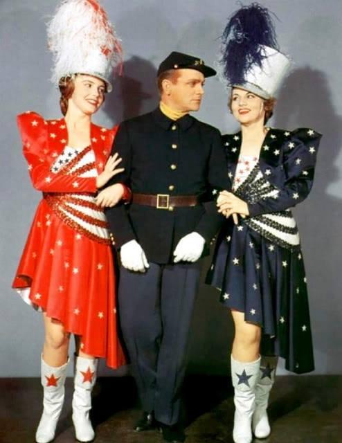 Joan Leslie, James Cagney & Jeanne Cagney