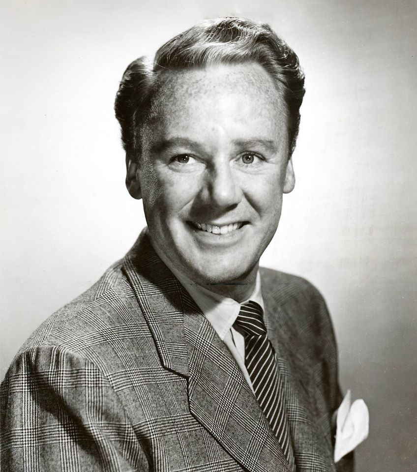 Van Johnson! Johnson had a huge career in movies with Metro-Goldwyn-Mayer but also made appearances in many different radio shows
