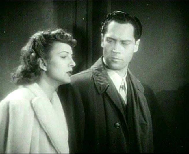 BLACK DRAGONS (1942) Joan Barclay and Clayton Moore