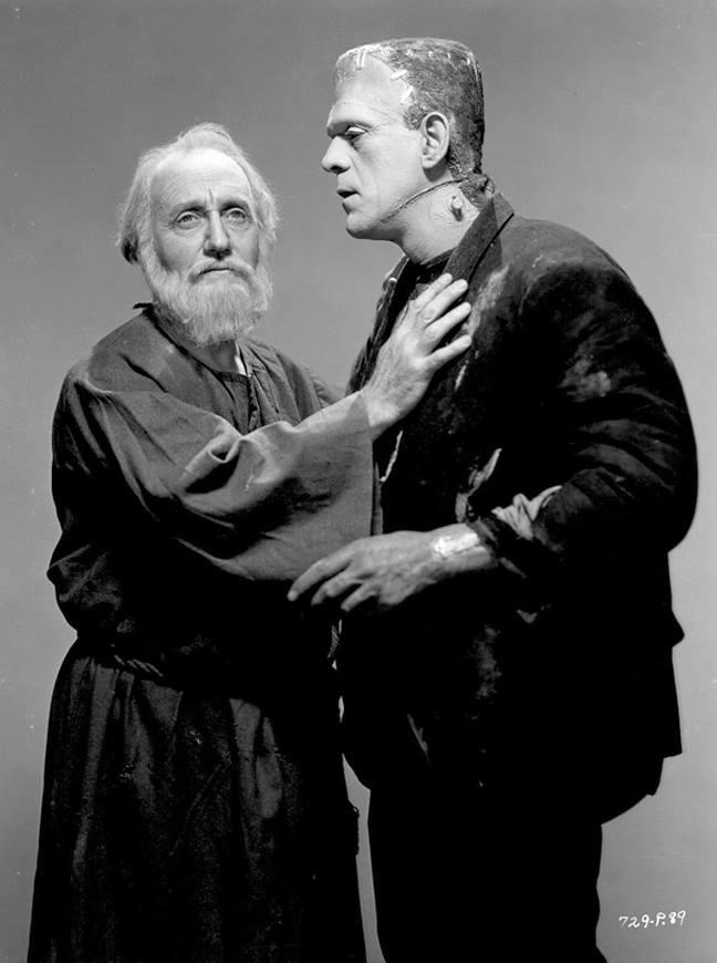 O.P. Heggie and Boris Karloff