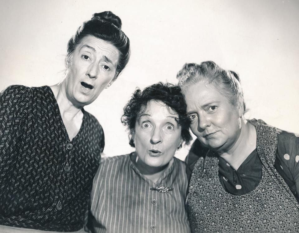 Almira Sessions, Una O'Connor and Dorothy Vaughan in THREE GIRLS ABOUT TOWN