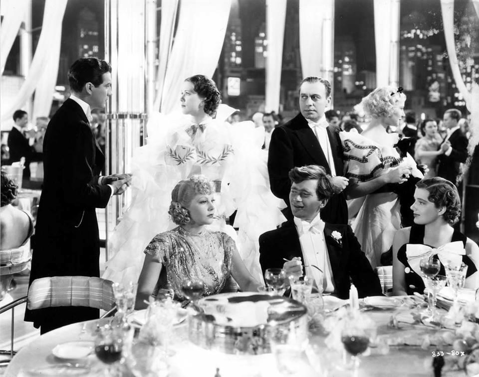 Robert Taylor, Eleanor Powell, Jack Benny, Una Merkel, June Knight, Buddy Ebsen and Vilma Ebsen