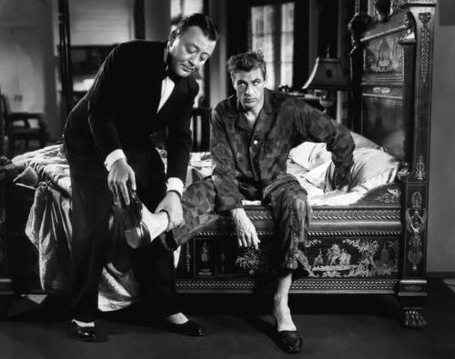 Raymond Walburn and Gary Cooper