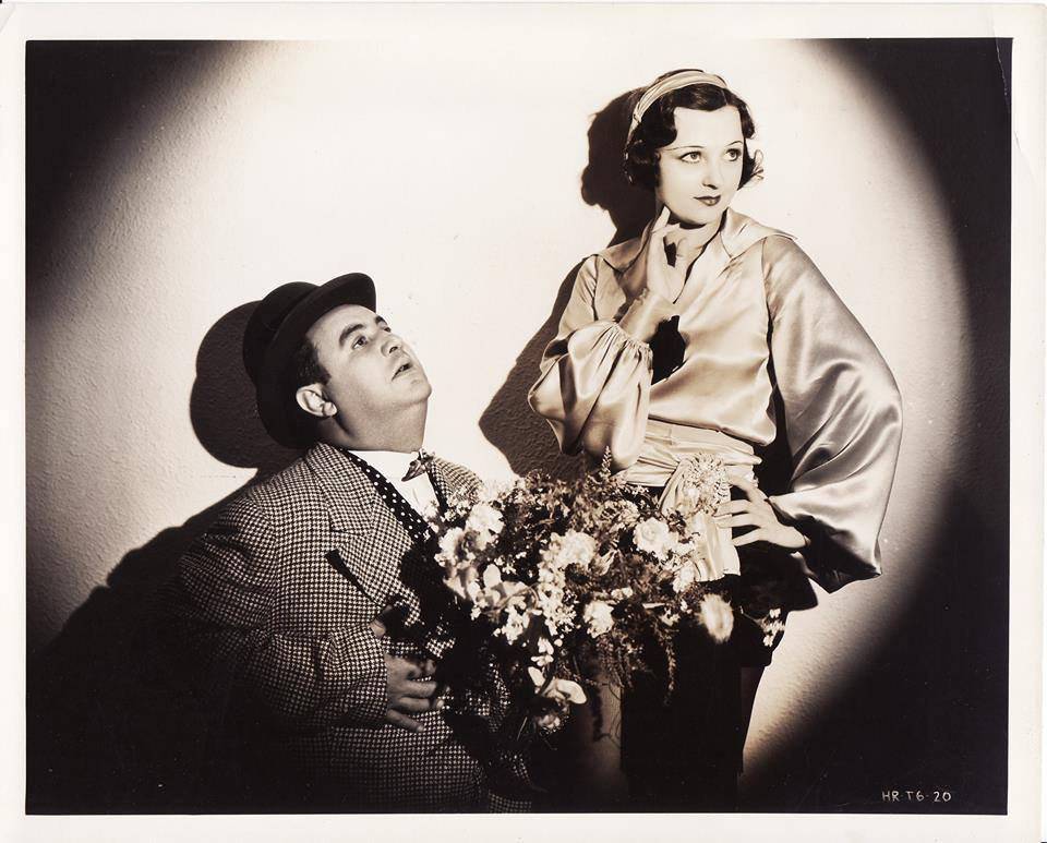 Billy Gilbert and Geneva Mitchell