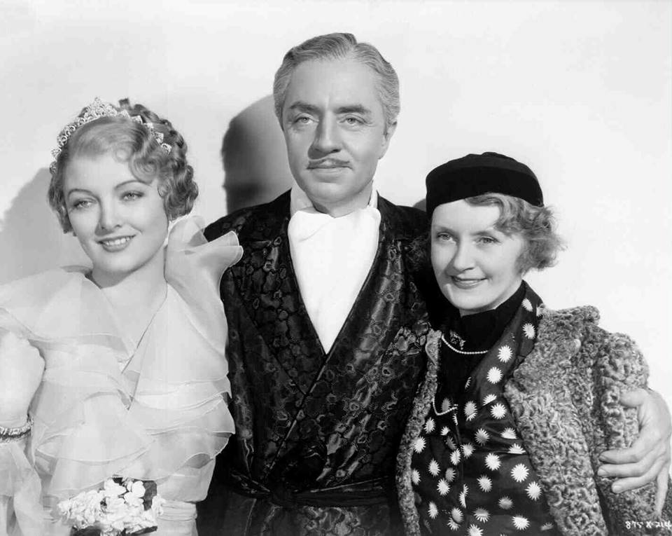 Myrna Loy, William Powell and Billie Burke