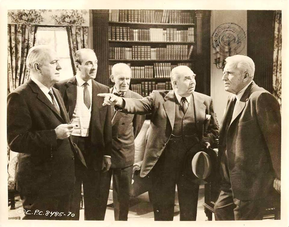 Pat O'Brien, Ricardo Cortez, James Gleason, Edward Brophy and Spencer Tracy