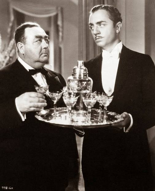 Eugene Pallette and William Powell