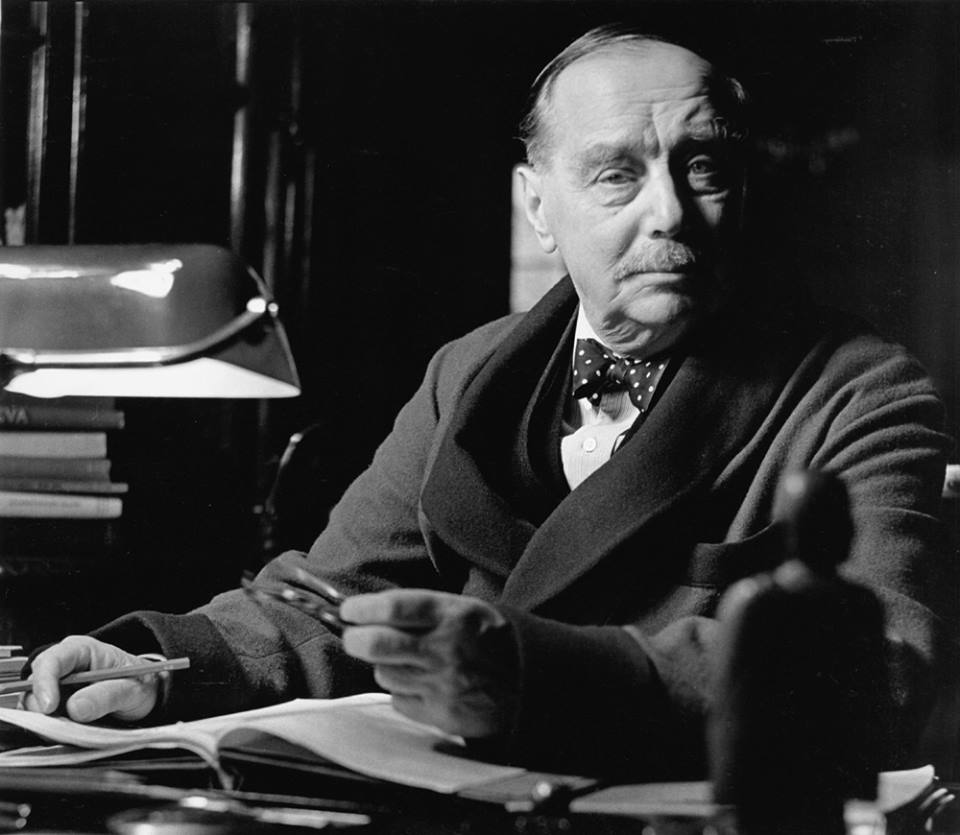 Prolific writer and one of the fathers of science fiction, H.G. Wells!