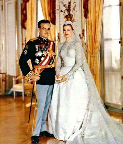 Grace Kelly married Prince Rainier of Monaco