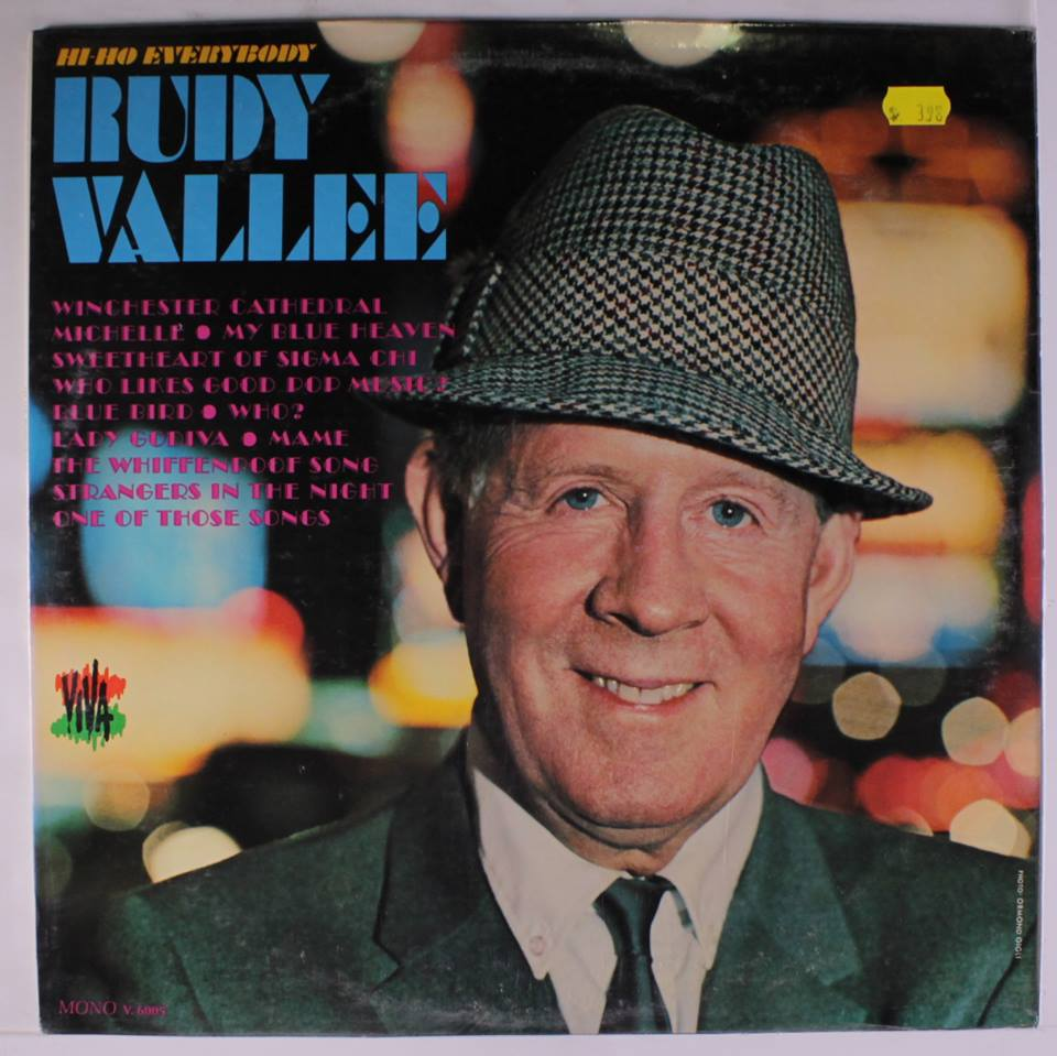who is rudy vallee