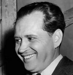 "Actor Jim Jordan, best known as ""Fibber McGee"