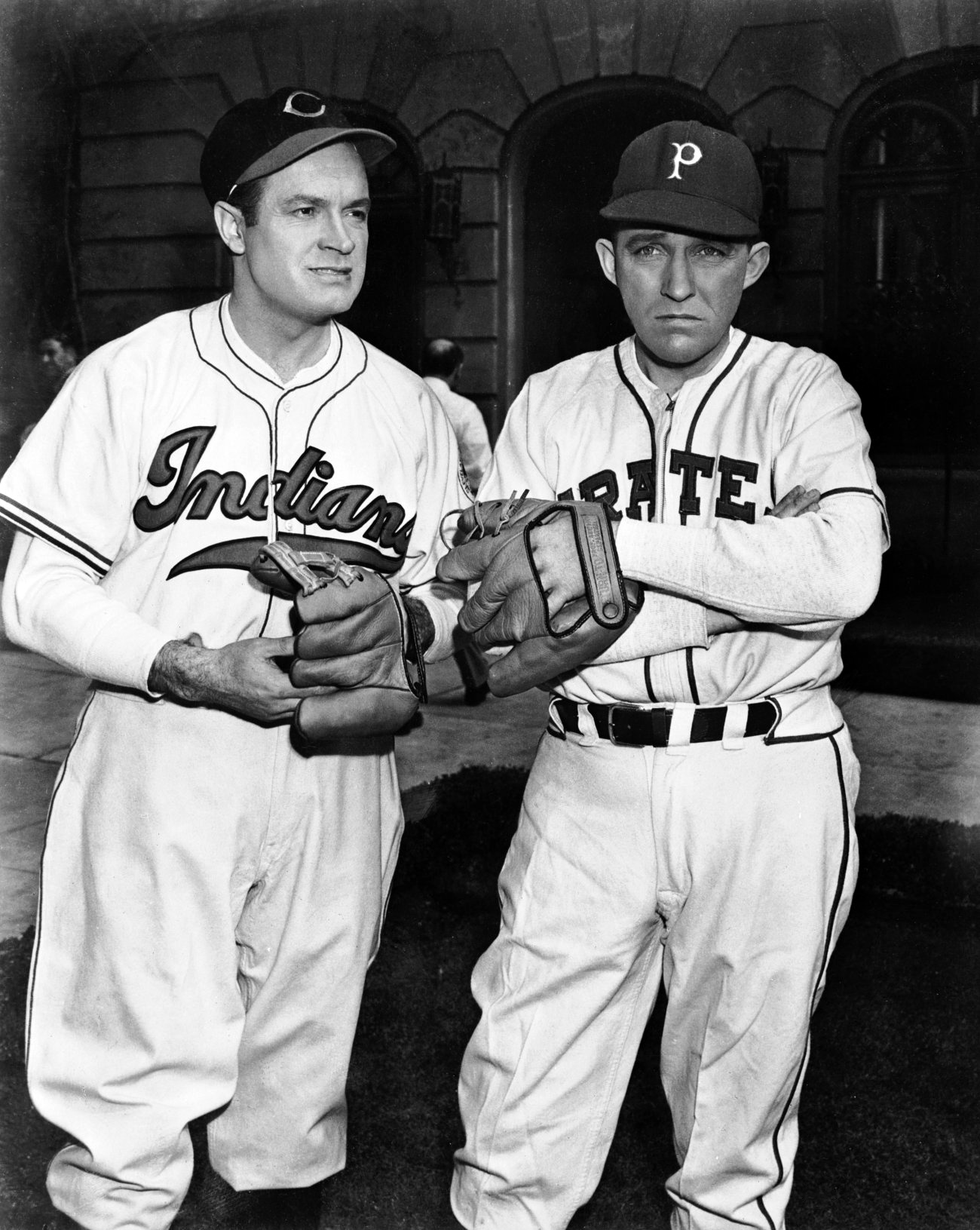 Bing Crosby with Bob Hope