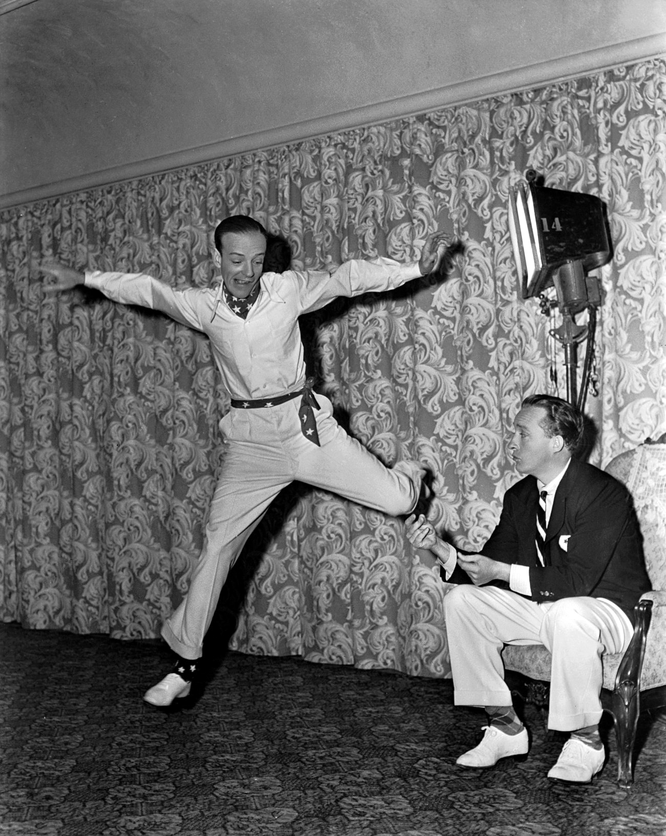 Bing Crosby With Fred Astaire