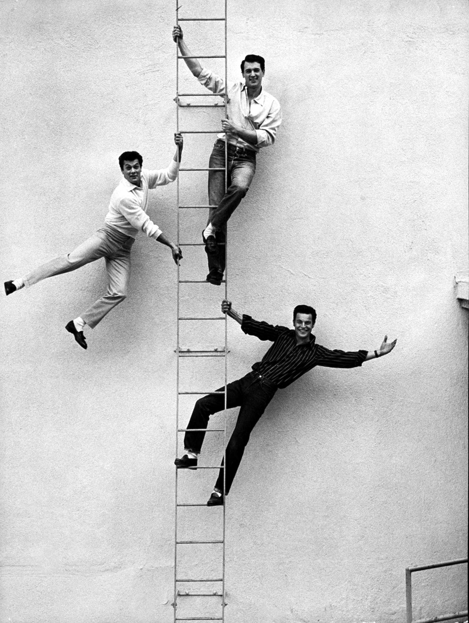 Tony Curtis, Rock Hudson, Robert Wagner