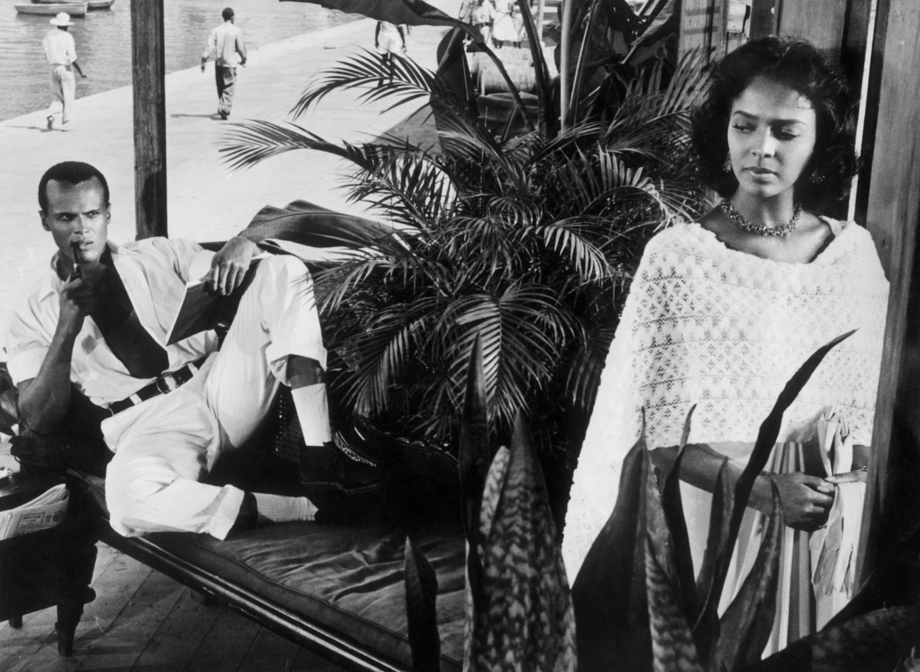 Dorothy Dandridge with Harry Belafonte