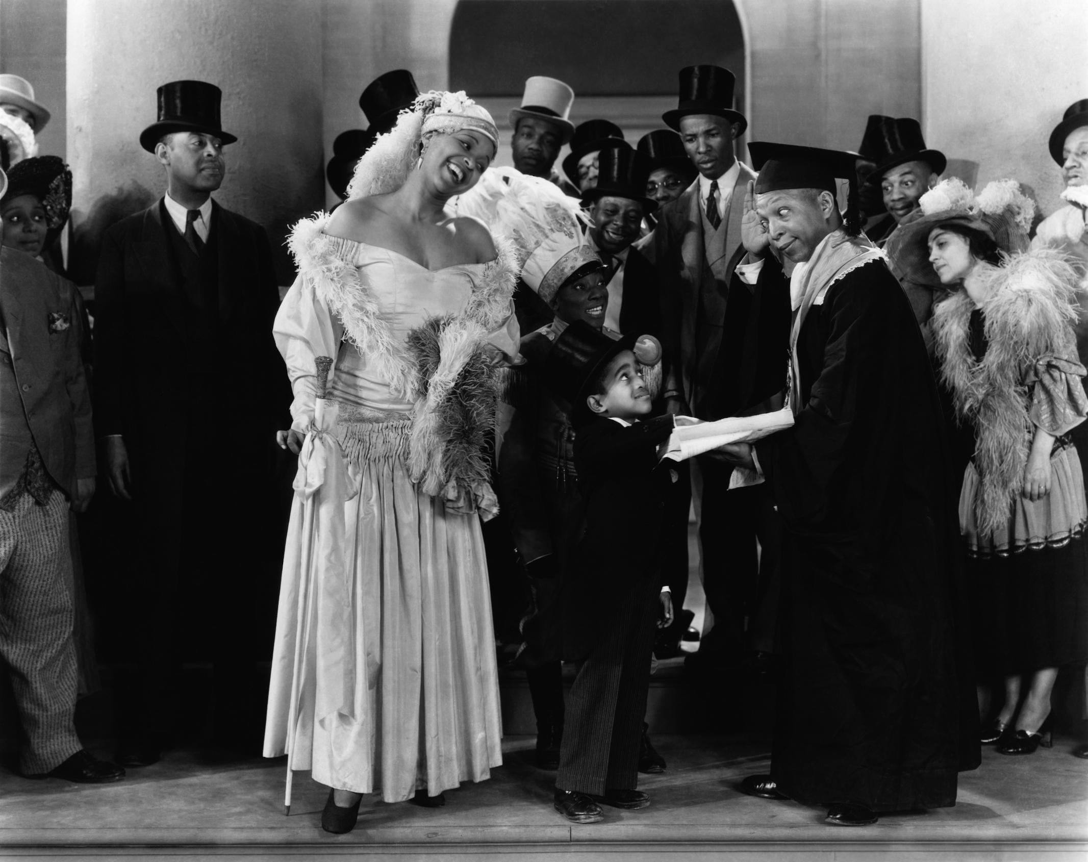 Ethel Waters, Sammy Davis, Jr., Hamtree Harrington