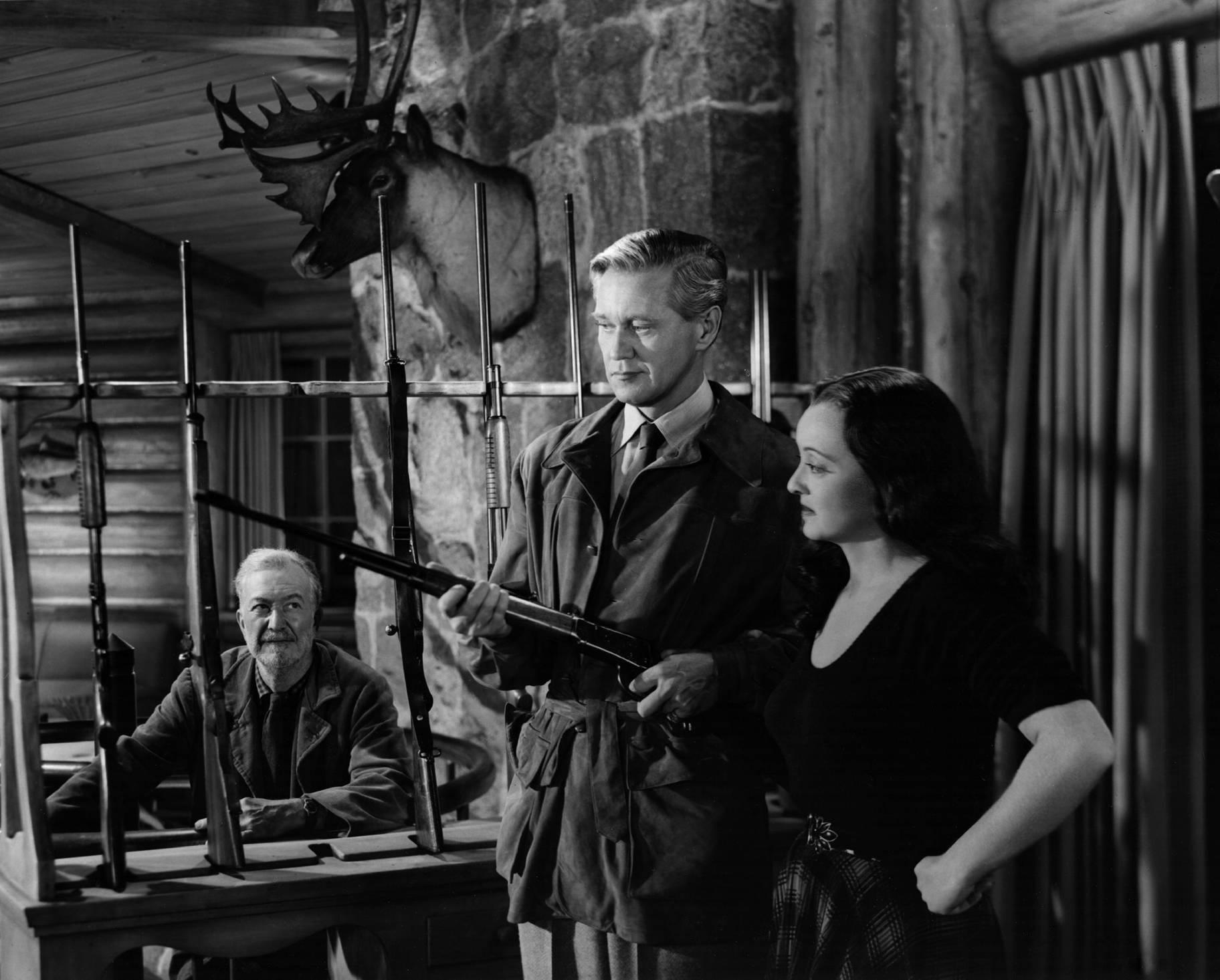 Minor Watson, David Brian, Bette Davis
