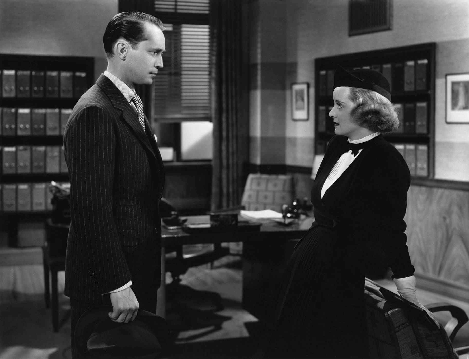 Bette Davis with Franchot Tone