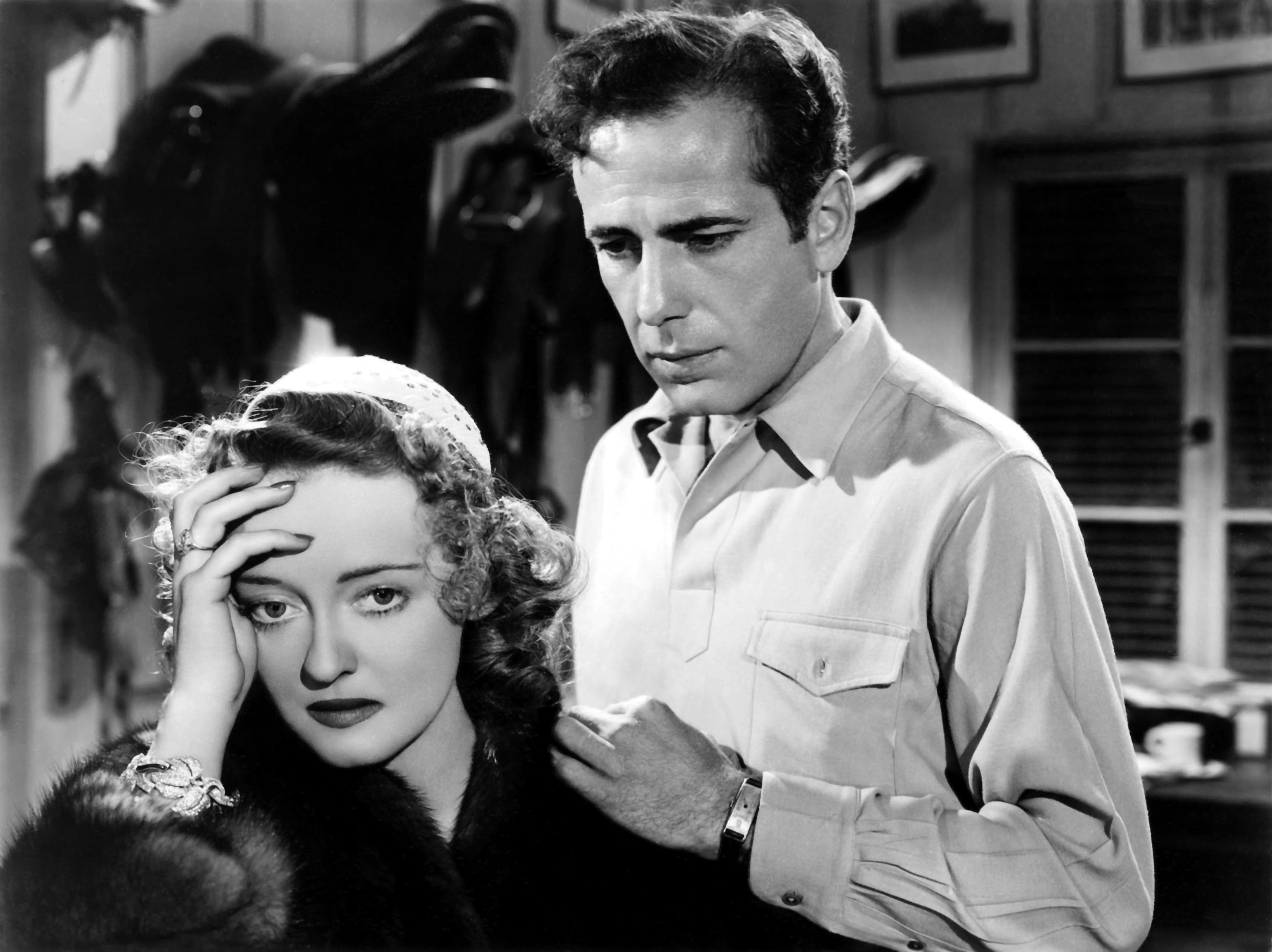 Bette Davis with Humphrey Bogart