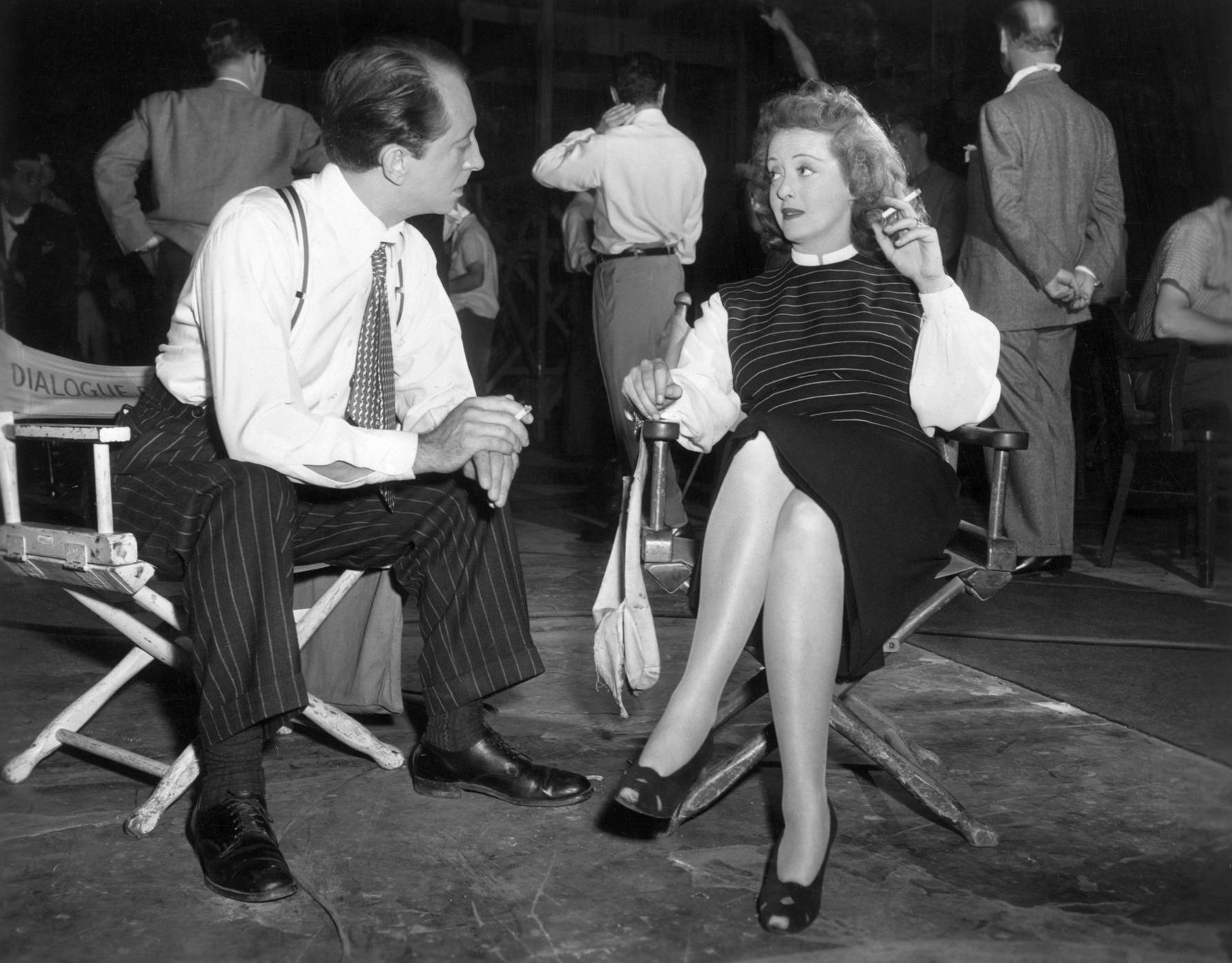 Bette Davis with John Abbott