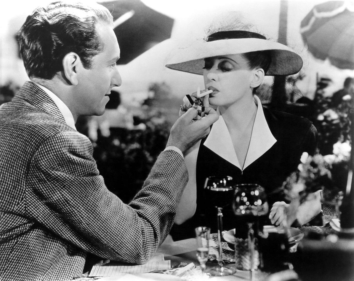 Bette Davis with Paul Henreid