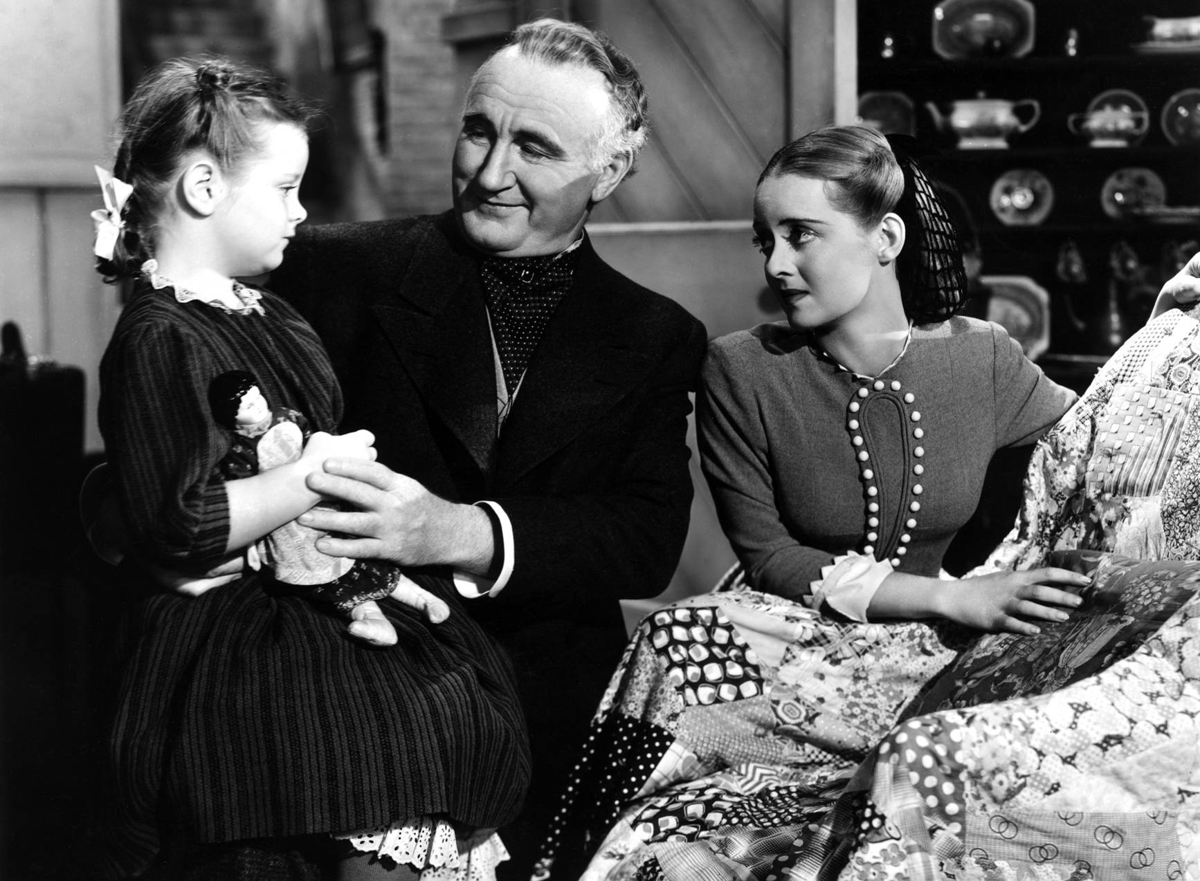 Bette Davis with Marlene Burnett, Donald Crisp,