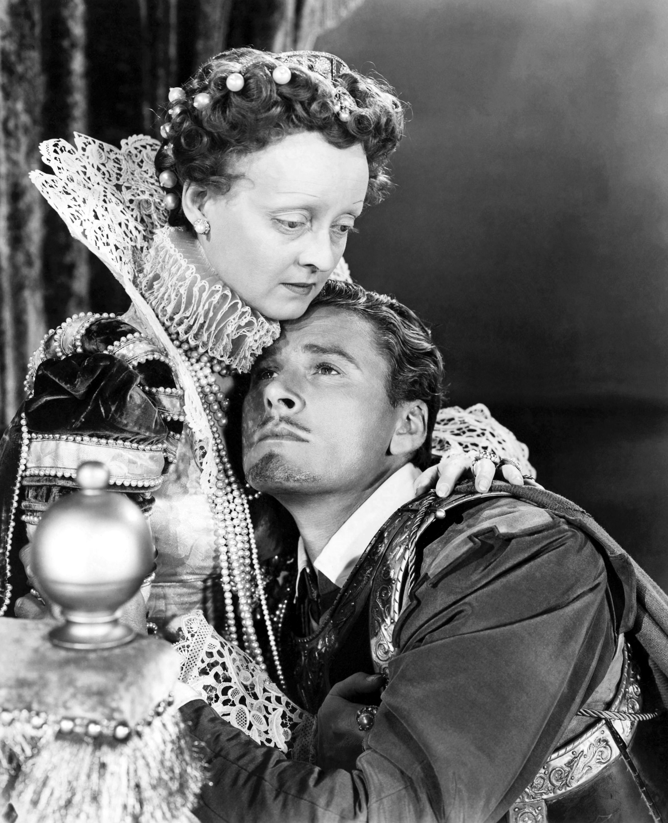 Bette Davis with Errol Flynn