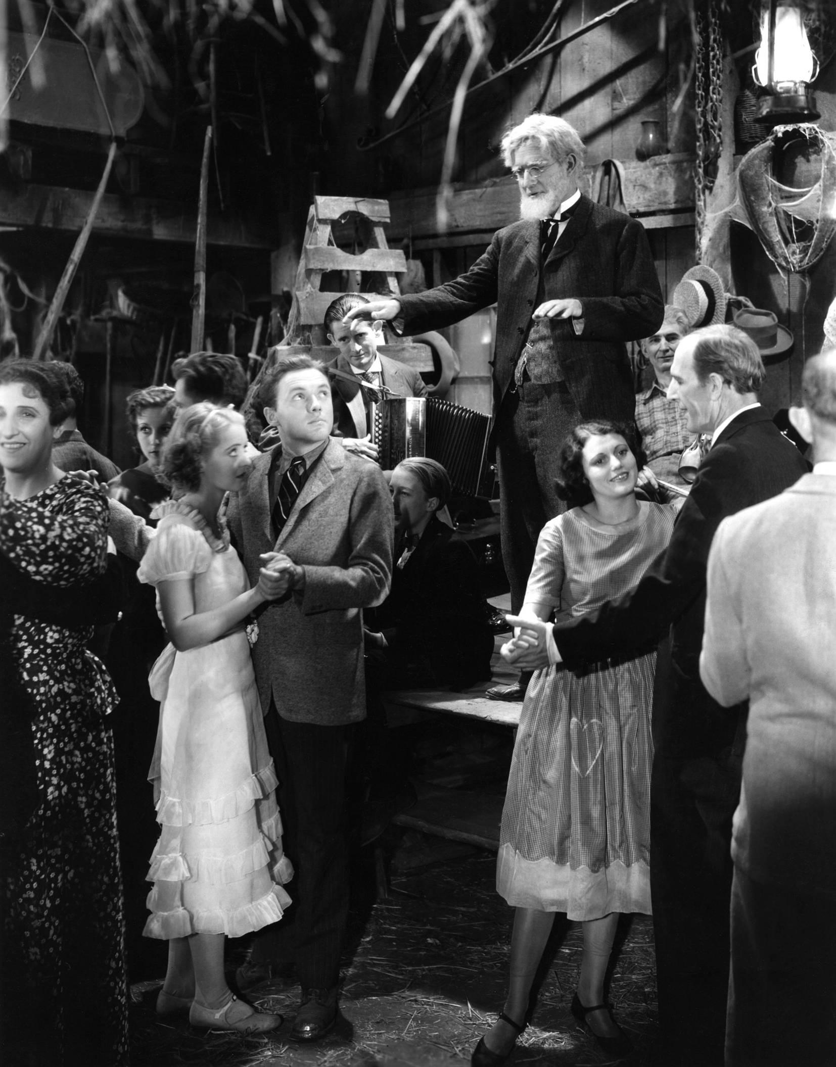 Bette Davis with Frank Albertson