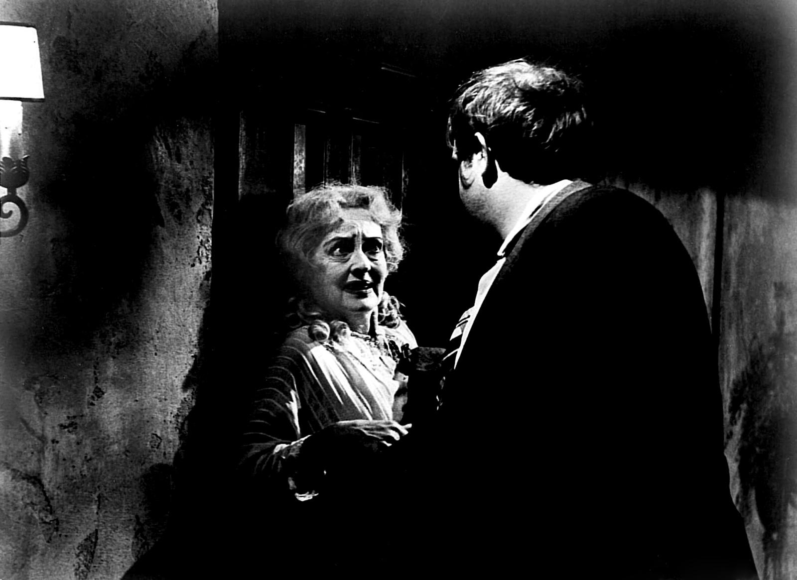 Bette Davis with Victor Buono