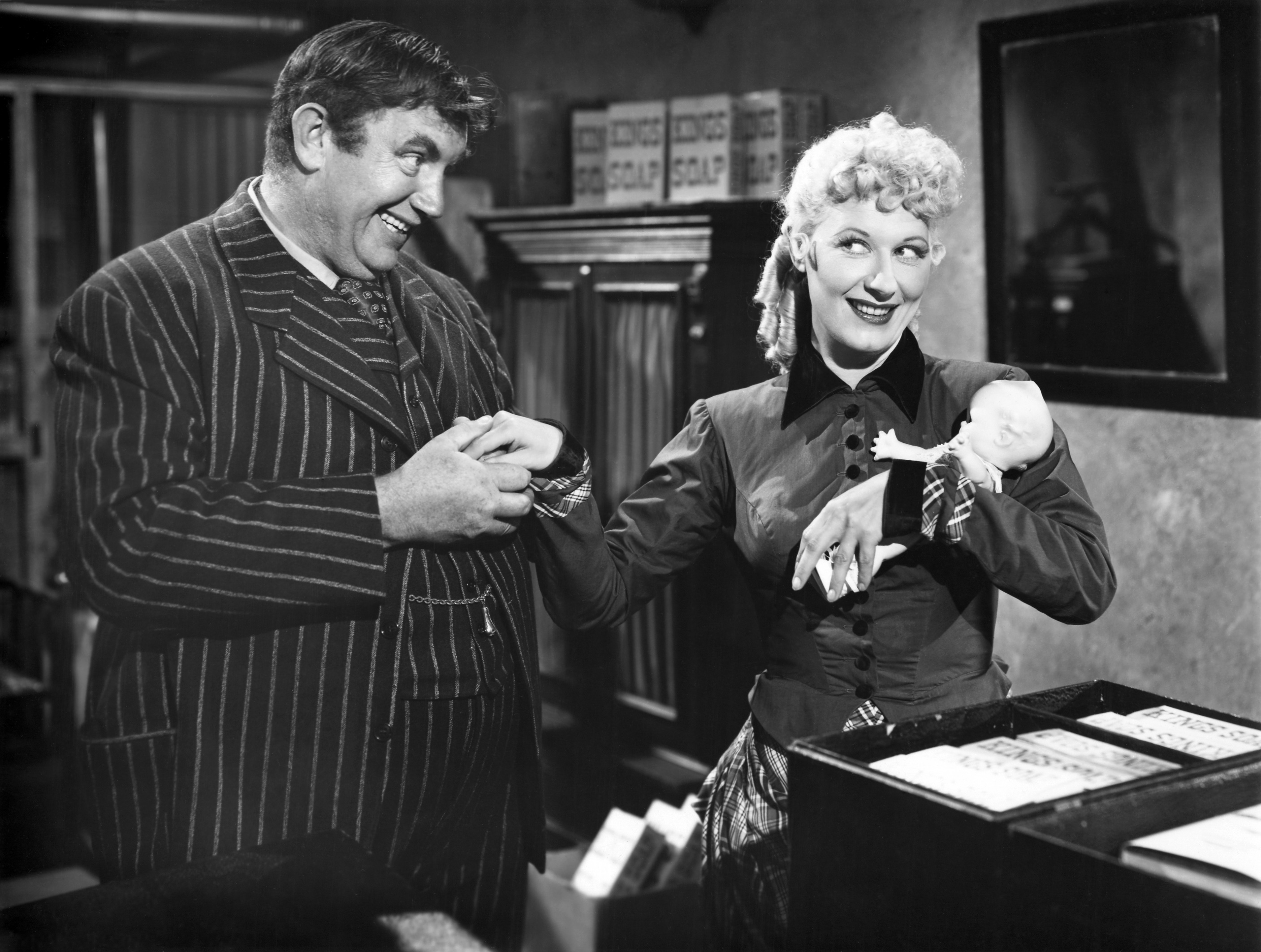 Joan Davis with Andy Devine