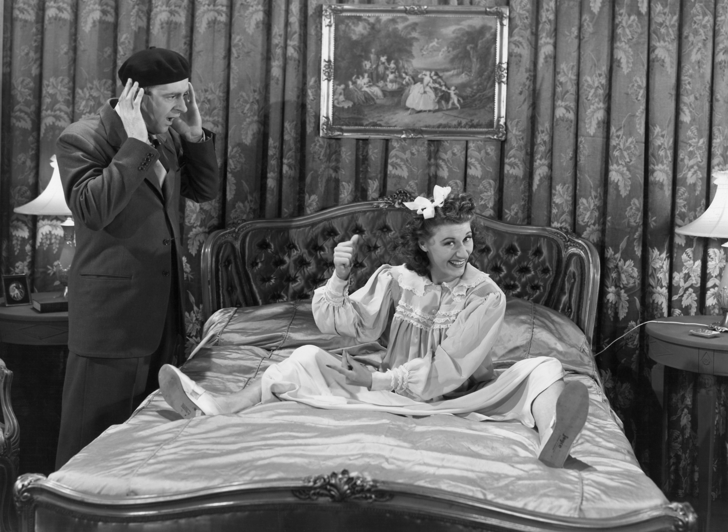 Joan Davis with Eddie Foy, Jr.