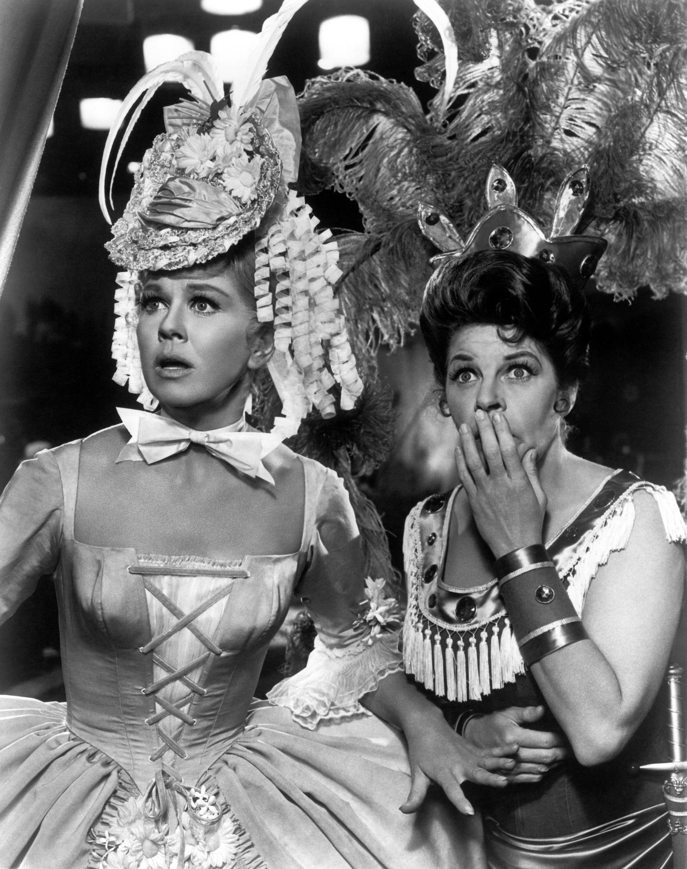 Doris Day with  Martha Raye