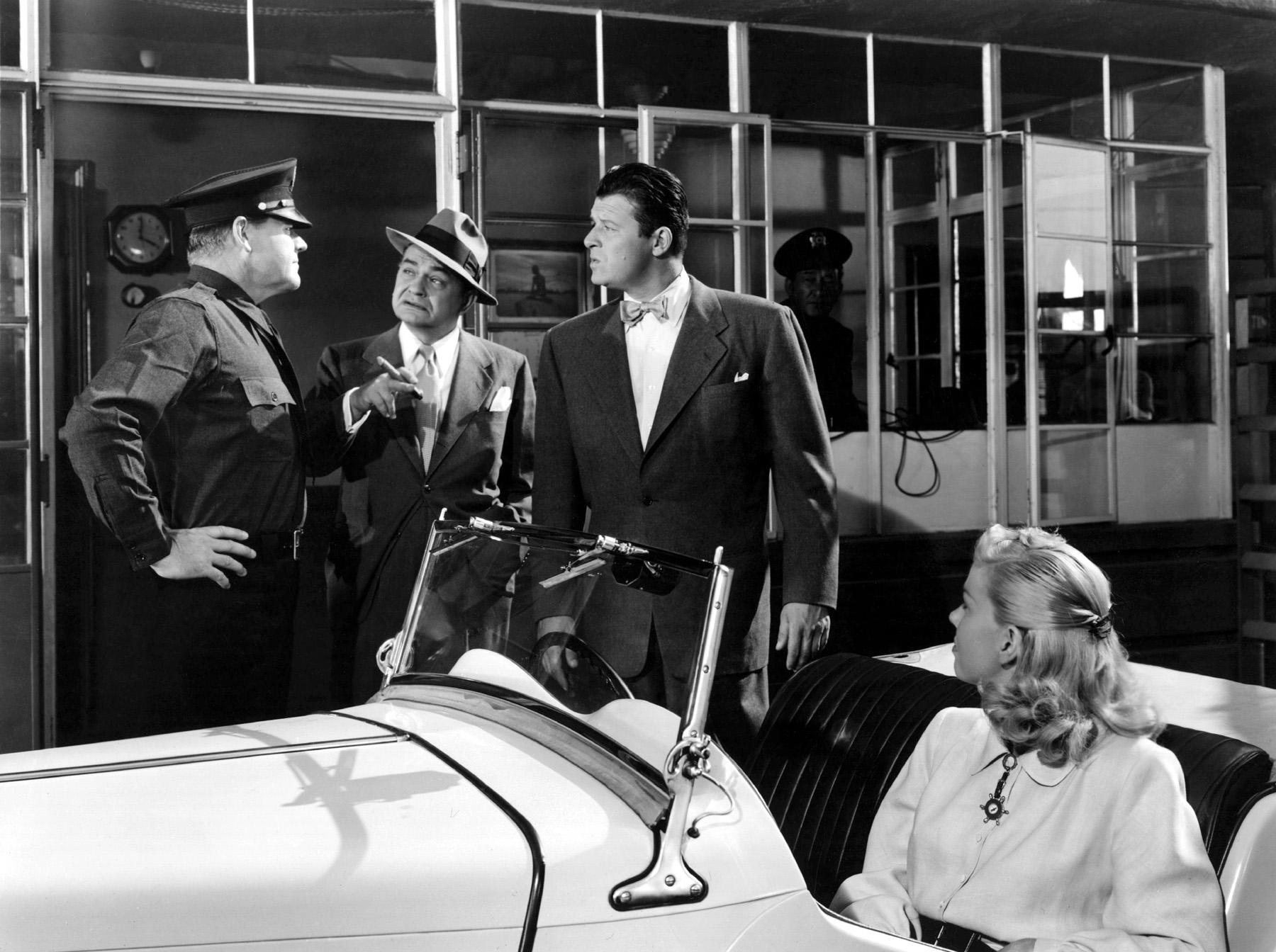 Edward G. Robinson, Jack Carson, Doris Day