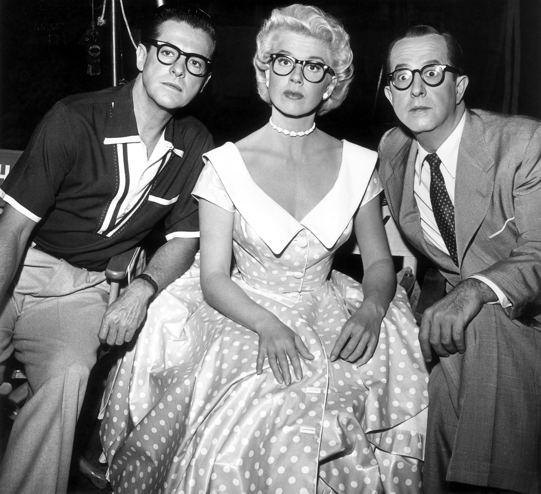 Robert Cummings,  Doris Day, Phil Silvers