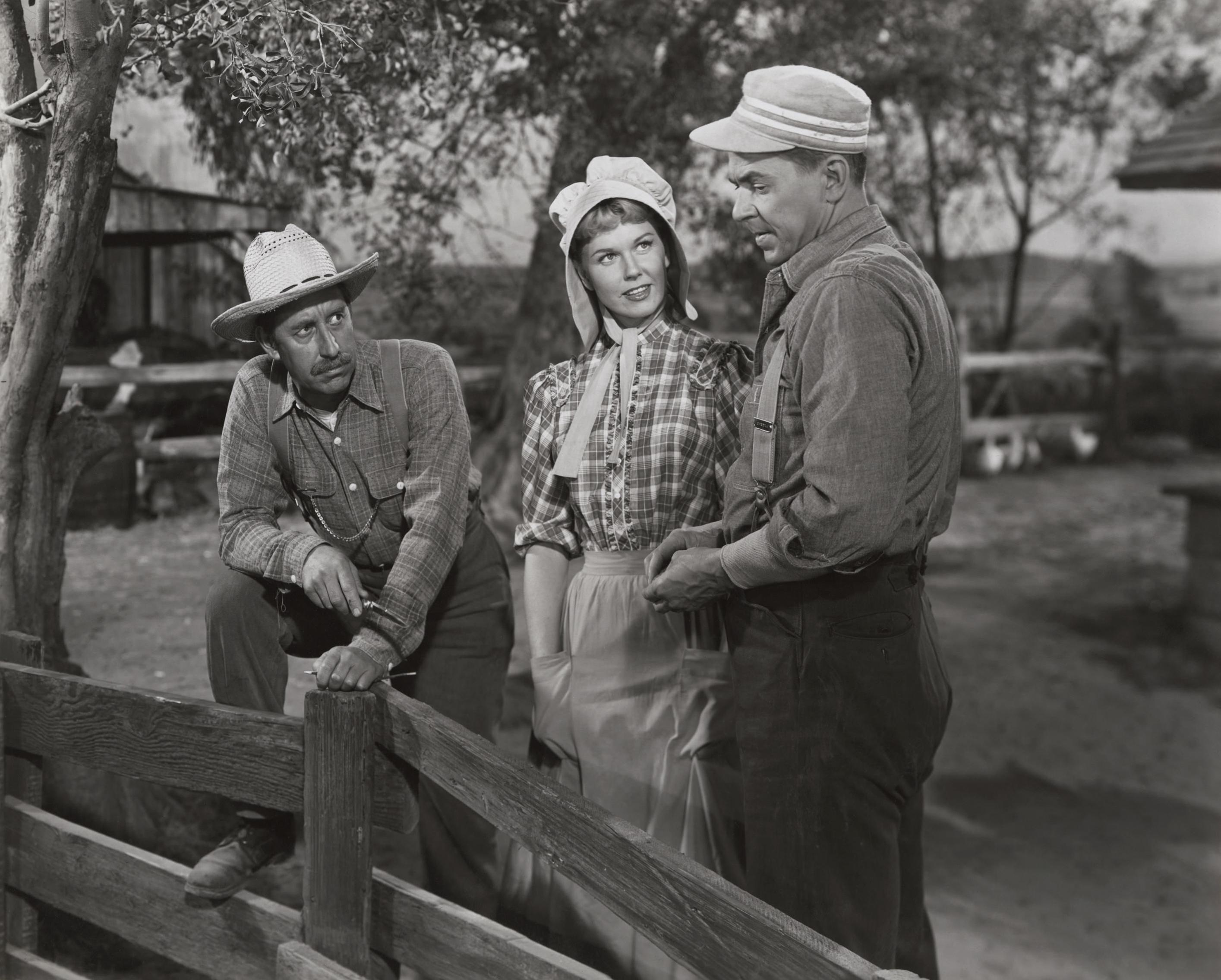 Frank Ferguson, Doris Day, Ronald Reagan