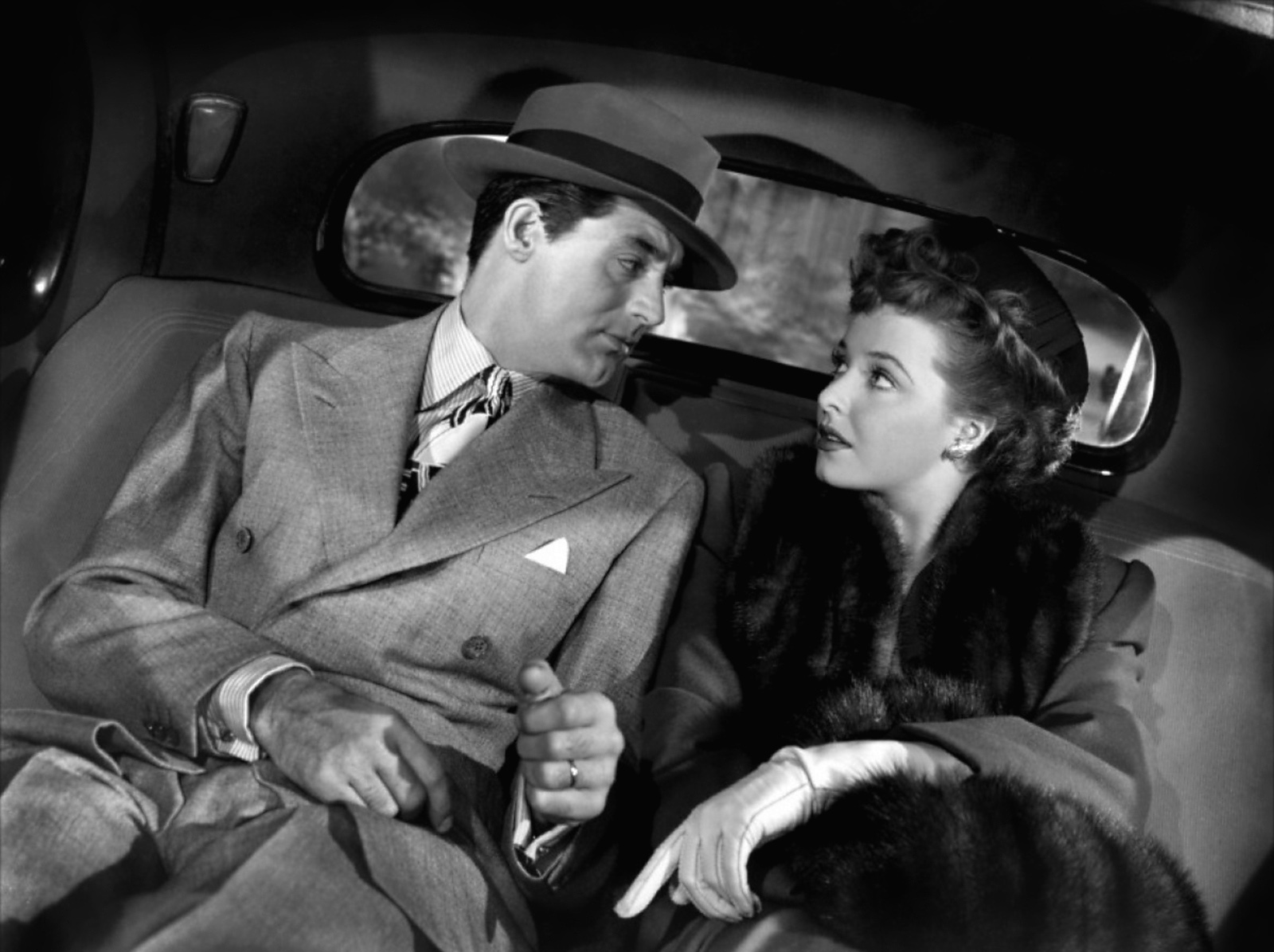 Laraine Day with Cary Grant