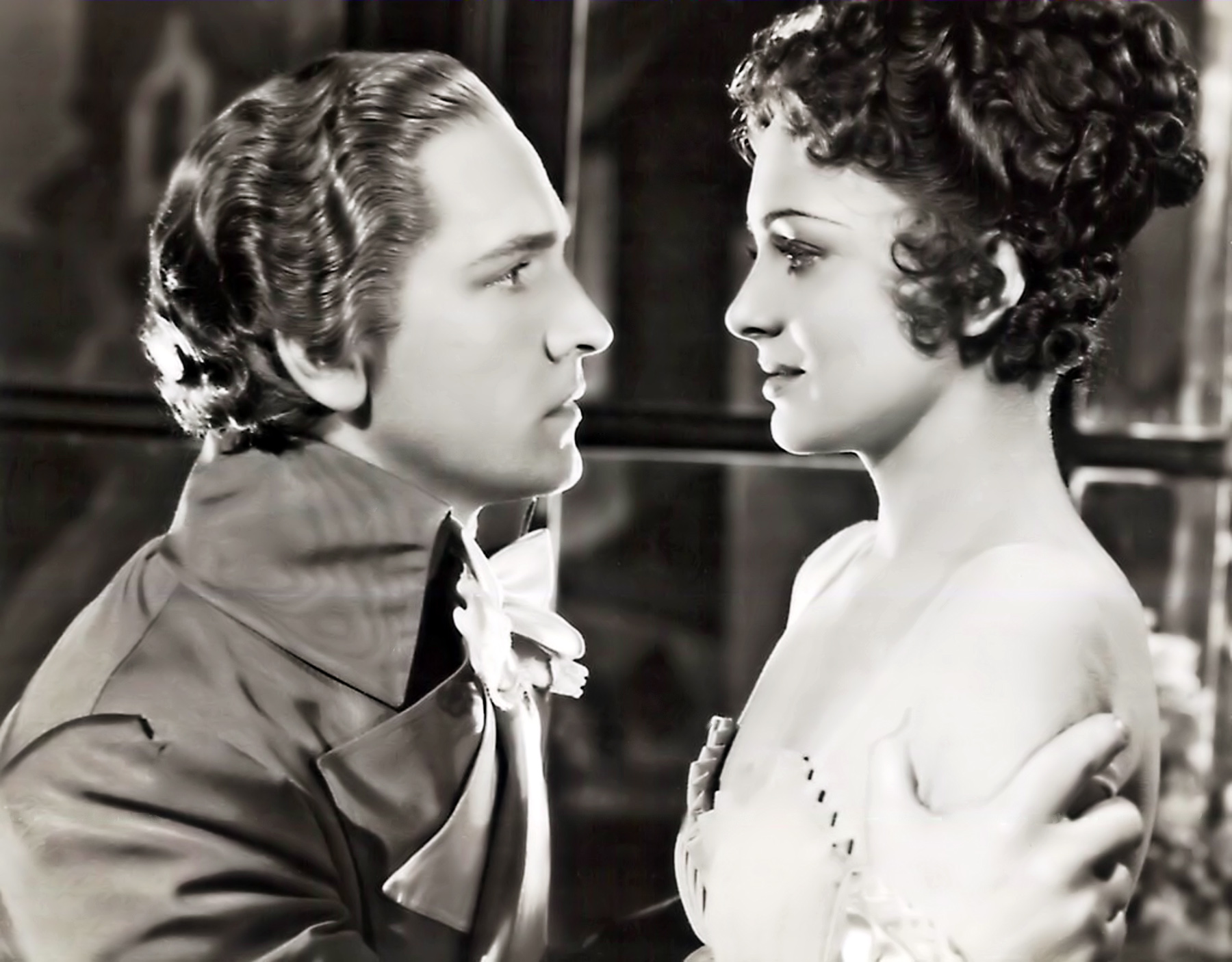 Olivia de Havilland with Fredric March