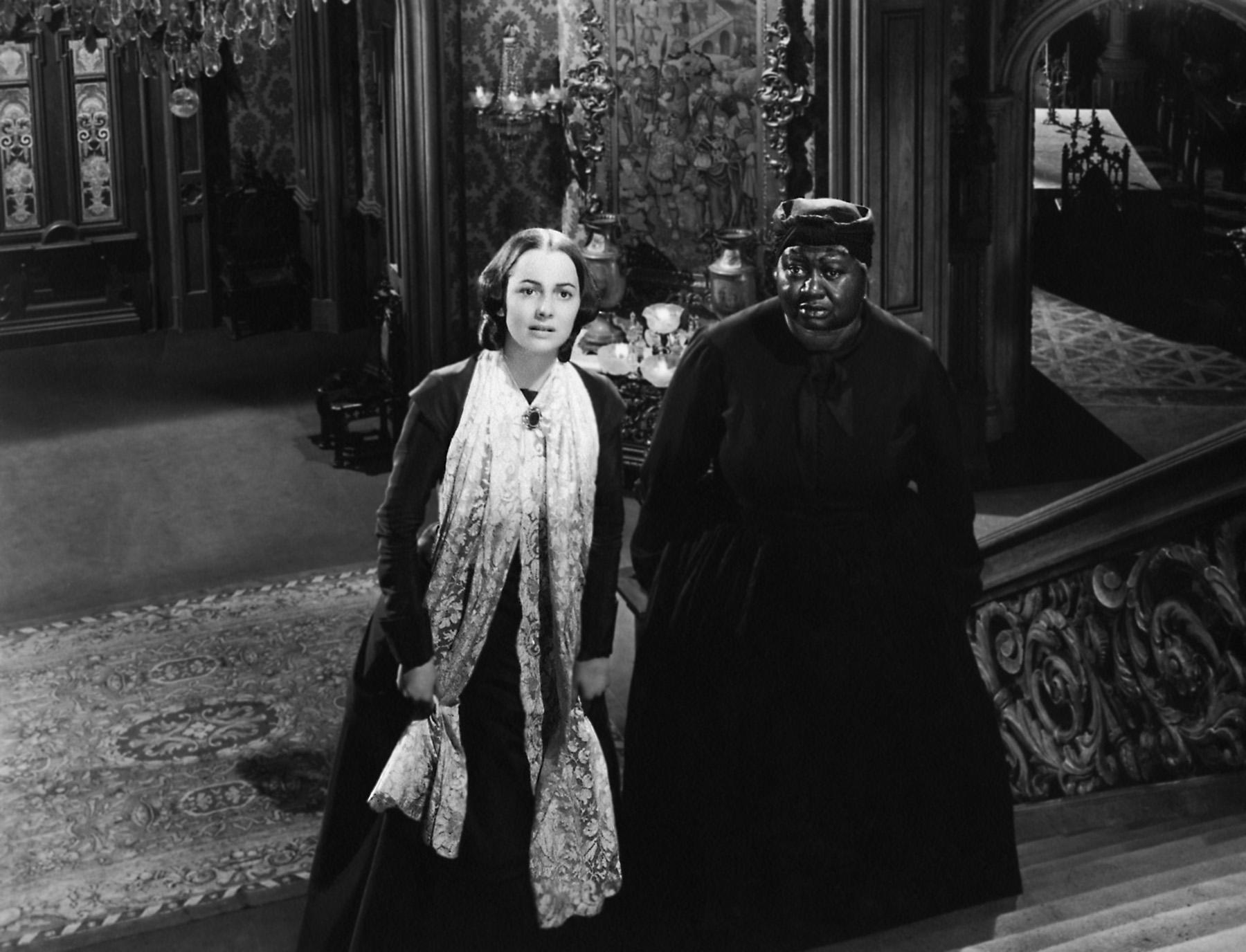 Olivia de Havilland  with Hattie McDaniel