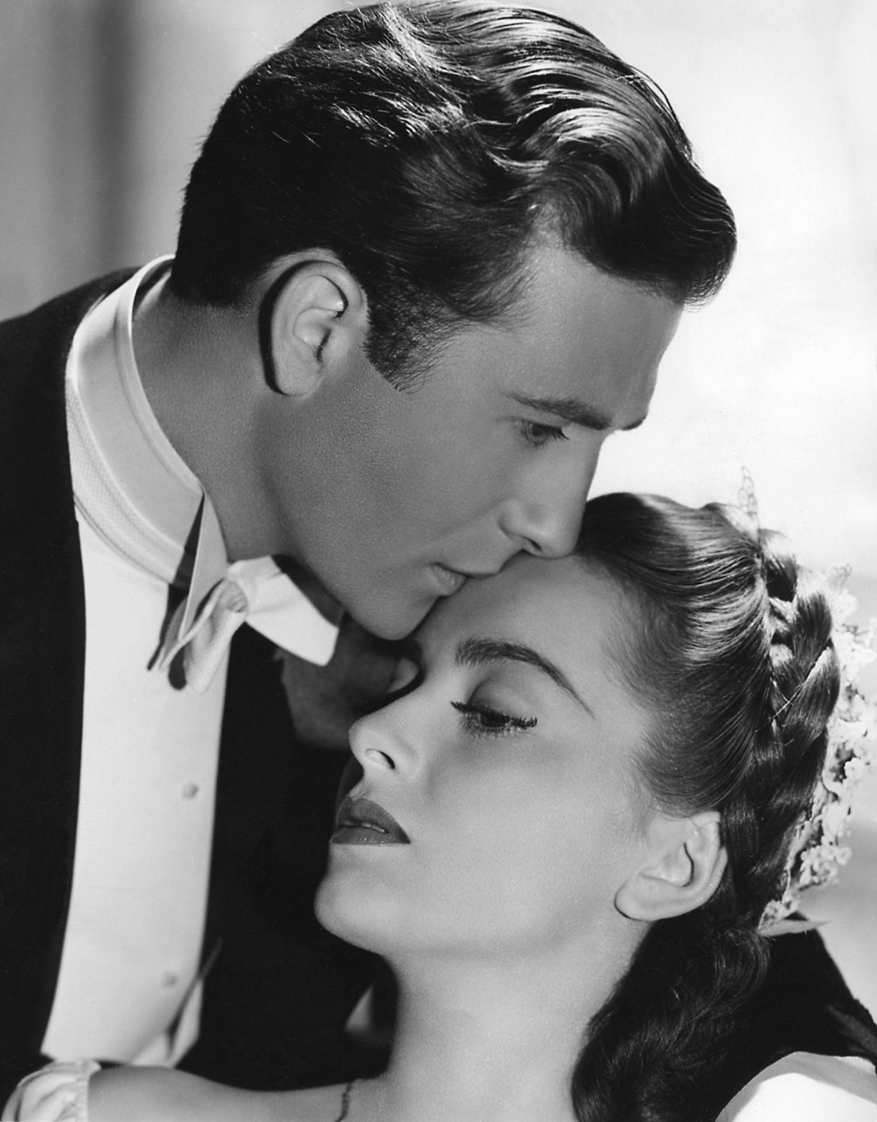 Olivia de Havilland with Jeffrey Lynn