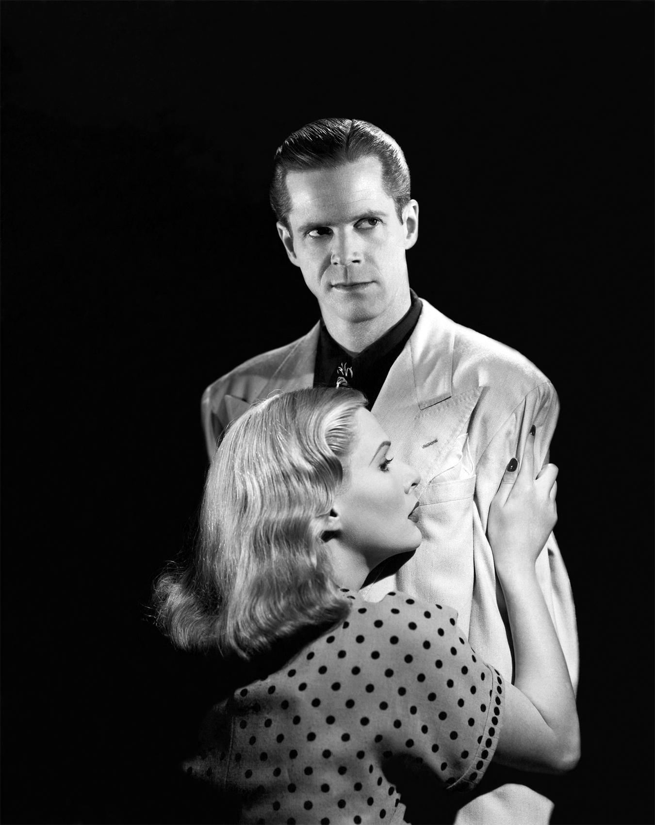 Dan Duryea With June Vincent