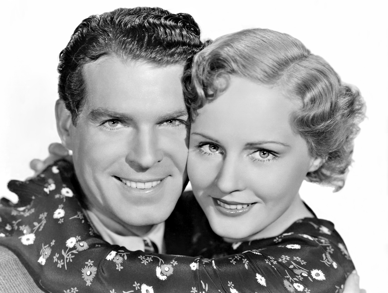 Madge Evans With Fred MacMurra