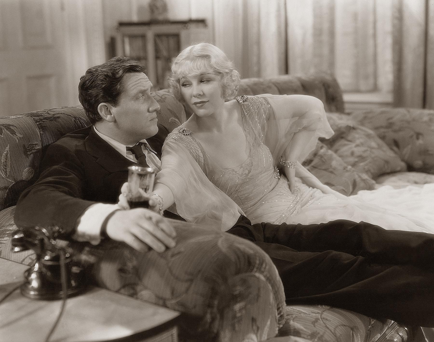 Glenda Farrell with Spencer Tracy