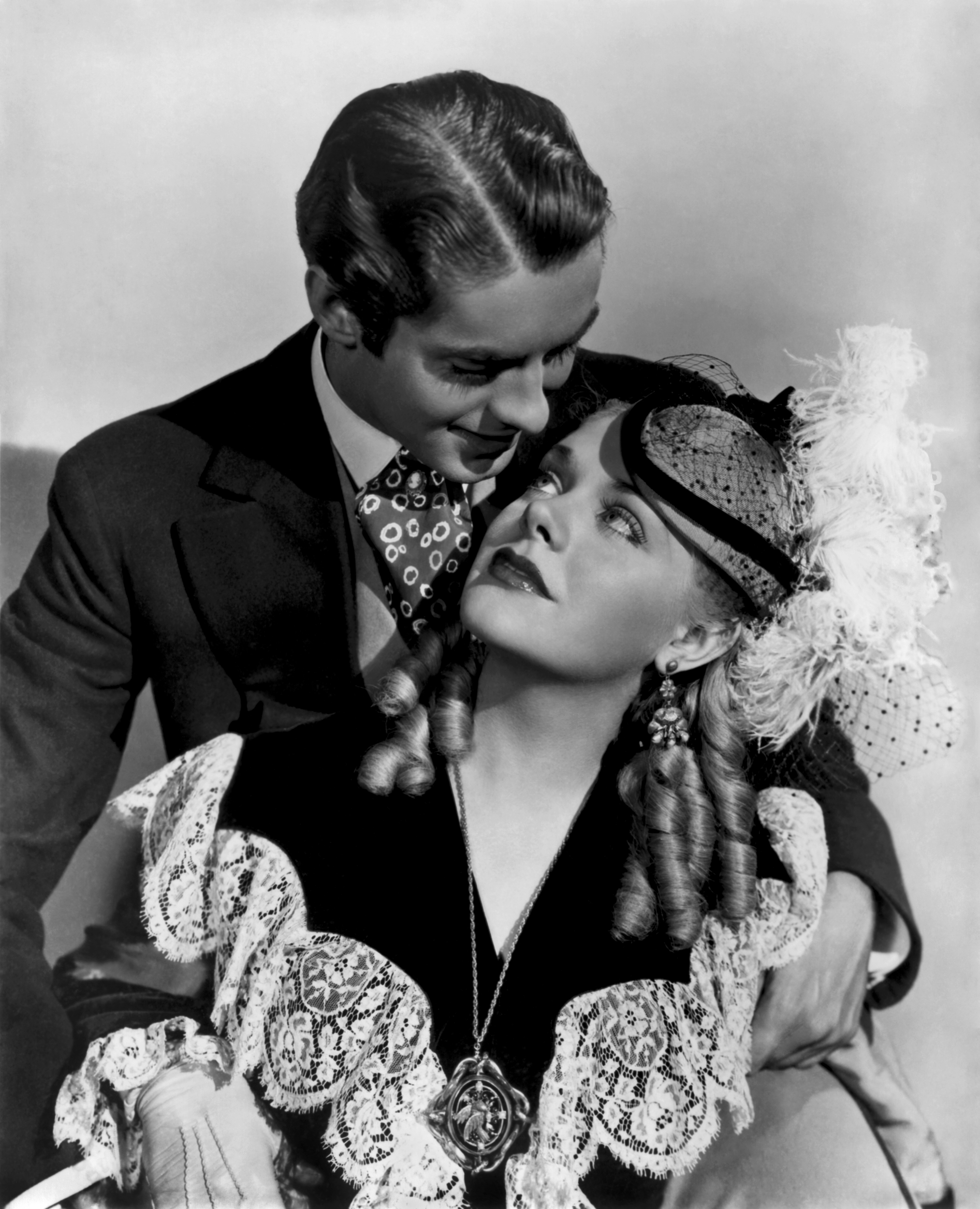Alice Faye with With Tyrone Power, Jr