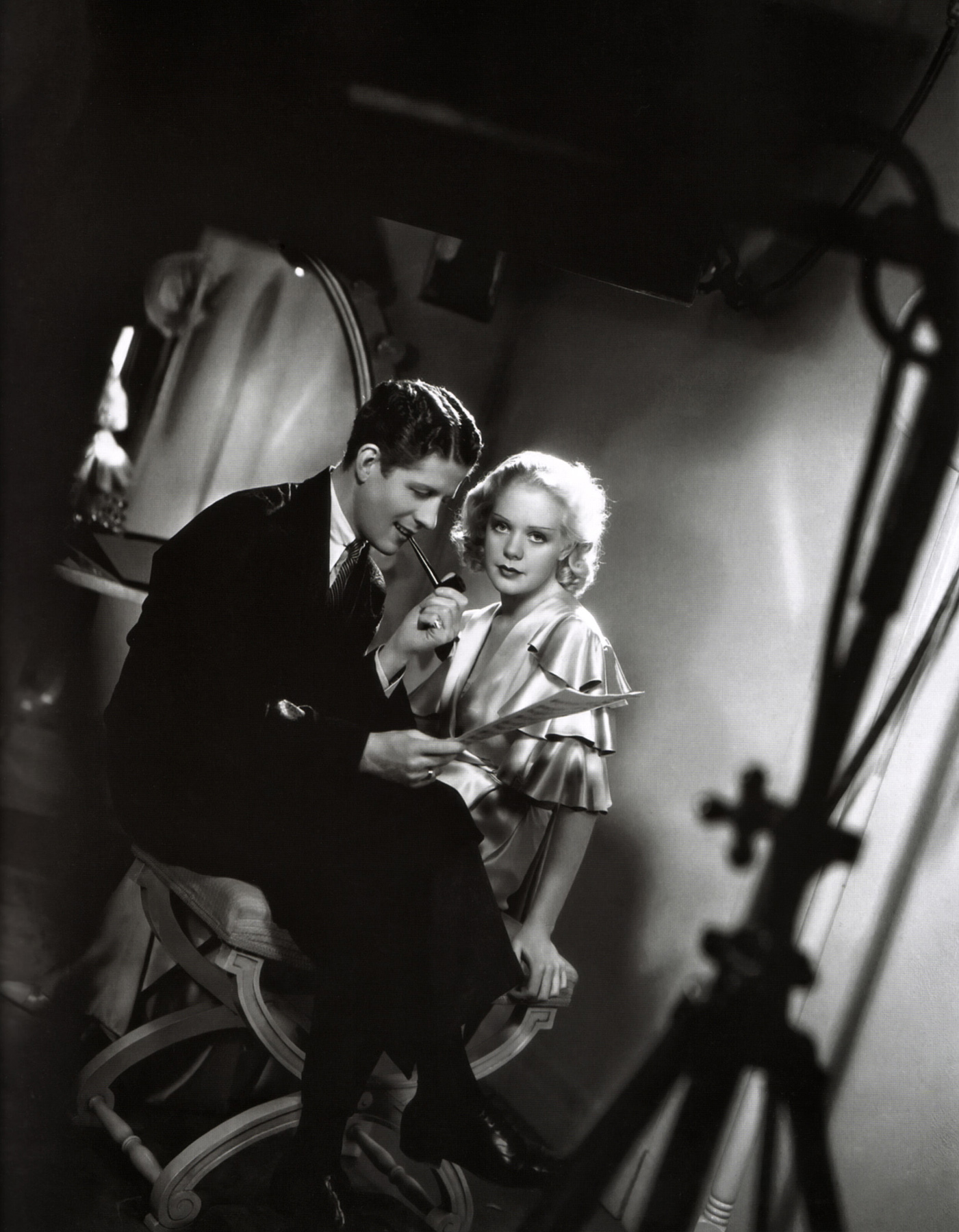 Alice Faye With Rudy Vallee