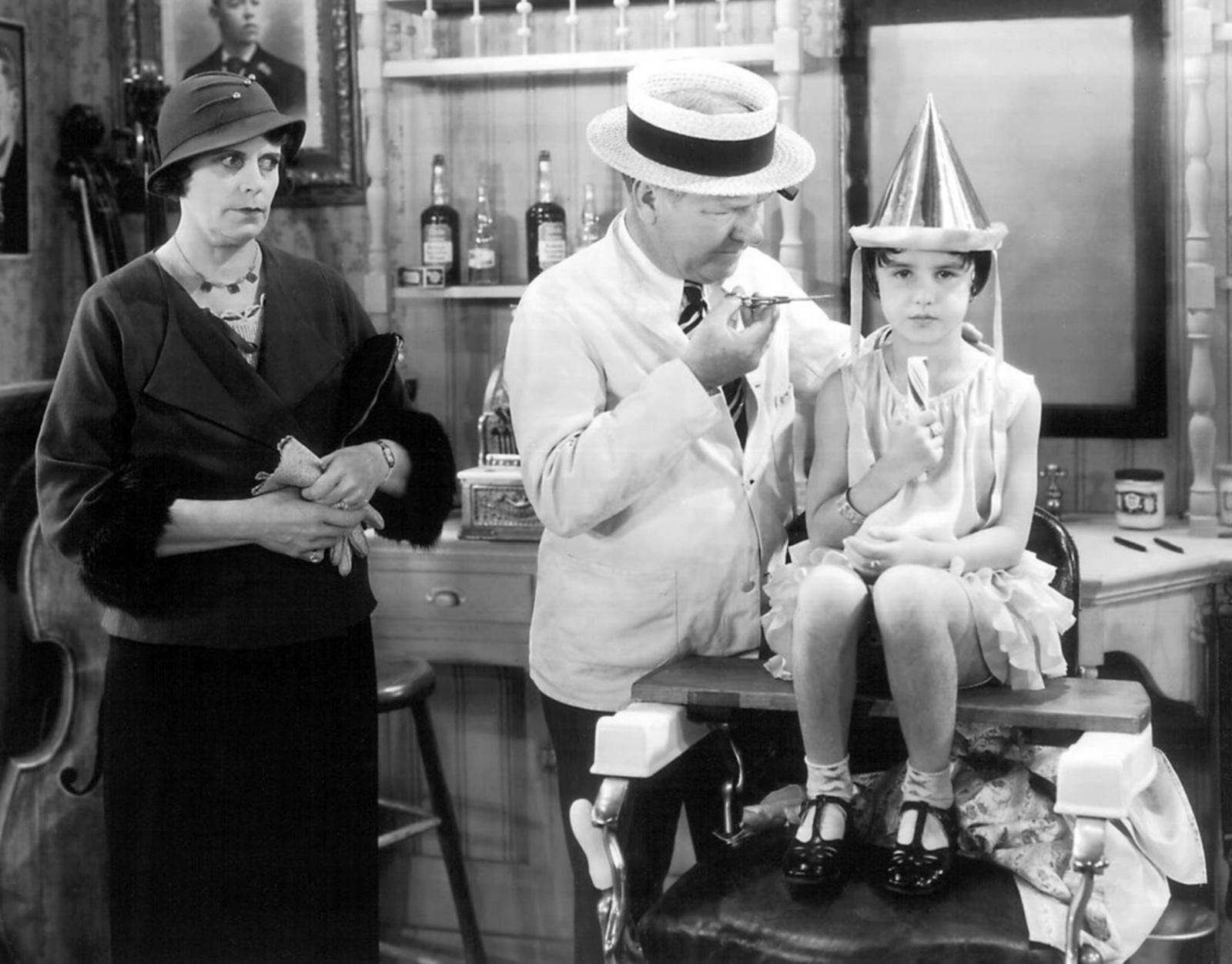 W.C. Fields with Gloria Velarde and holdemess