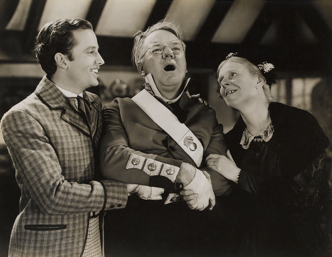 W C. Fields with Jean Cadell and frank lawton